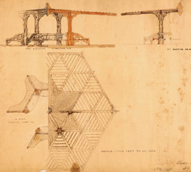 1866 Summer House Blueprint